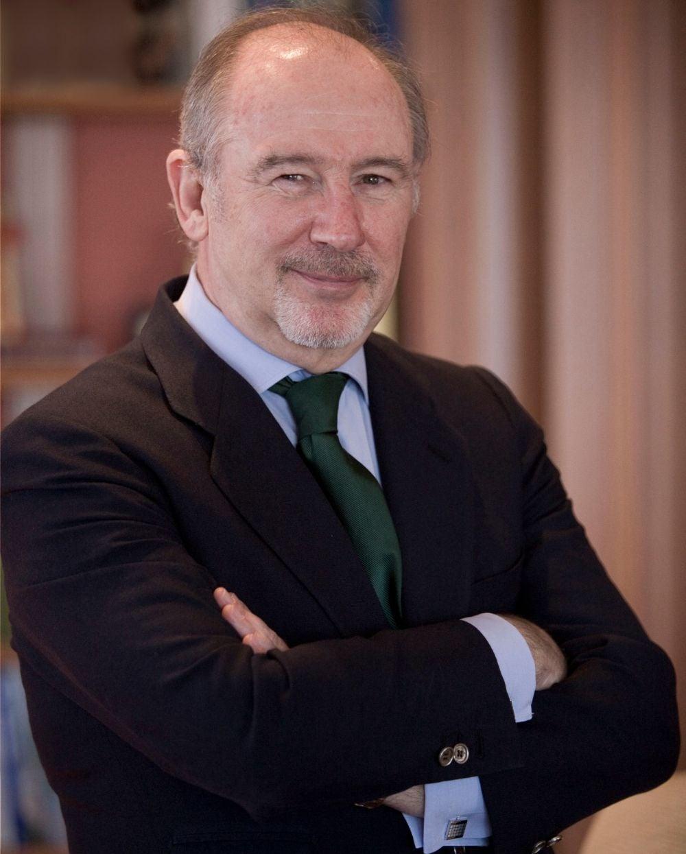 Rodrigo Rato, former chairman of Spain's Bankia SA