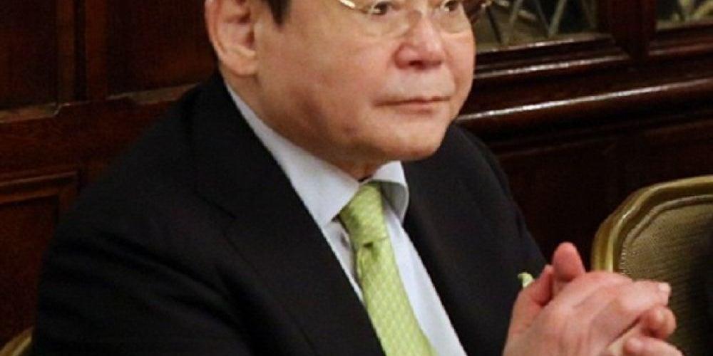 Lee Kun-hee, chairman of Samsung Electronics Co