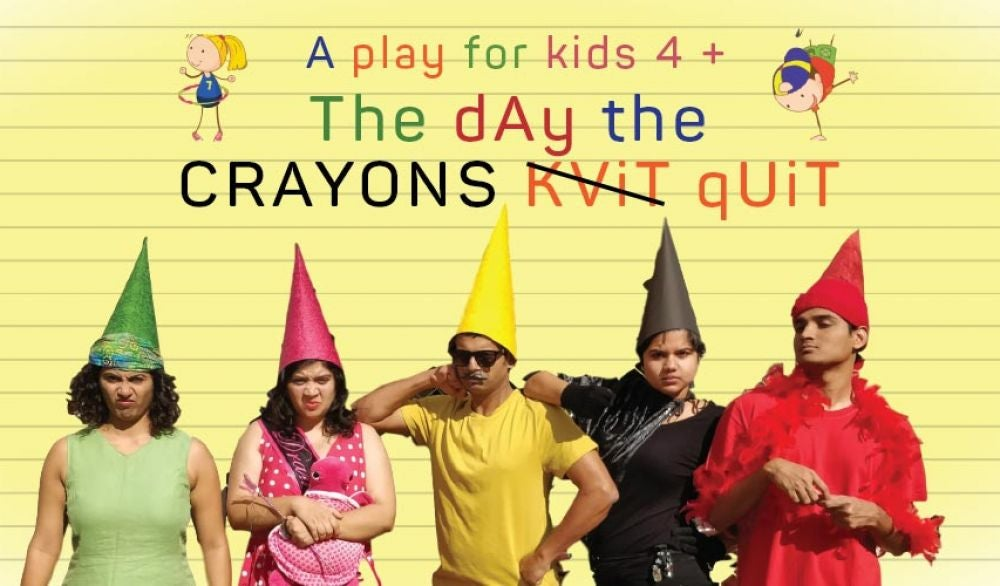 Ahmedabad- The Day The Crayons Quit