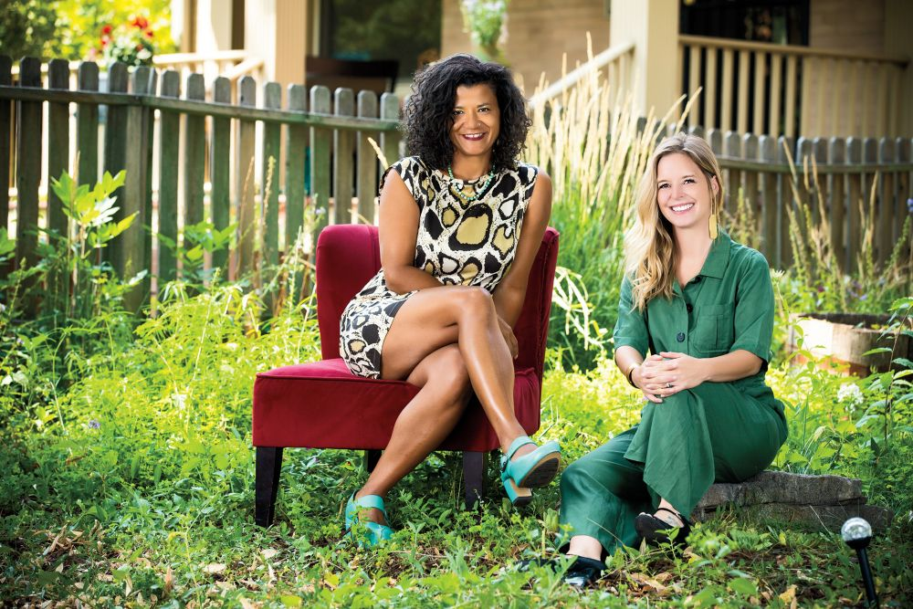 Courtney Mathis and Kelly Perez, cofounders, kindColorado