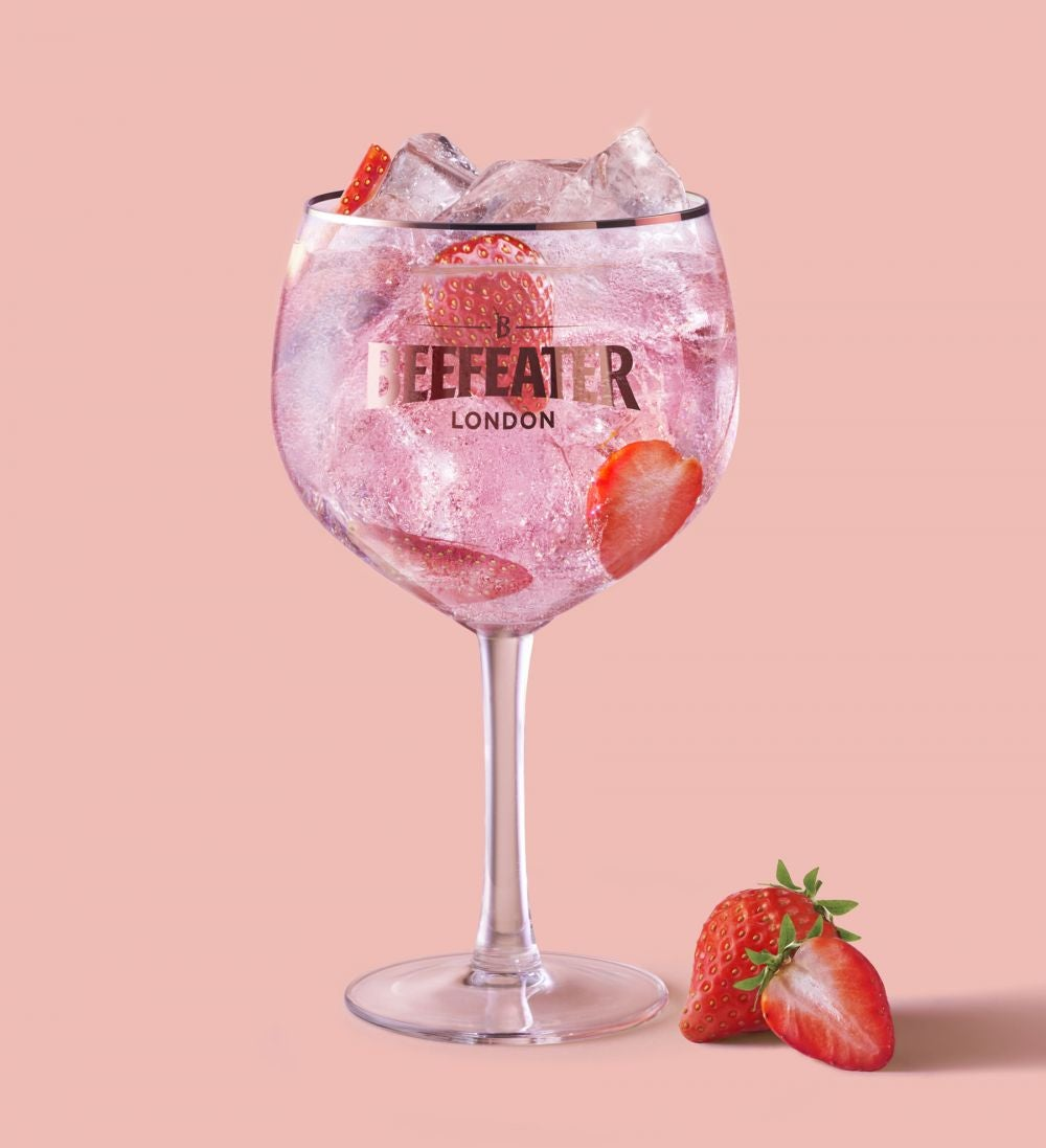 Beefeater Pink & Soda