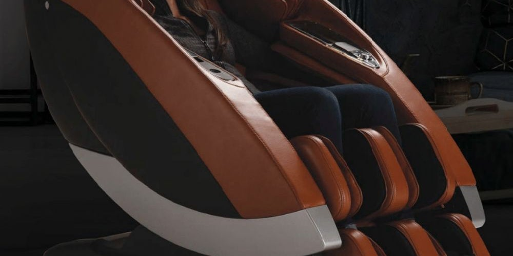 A smart massage chair that listens to your requests.