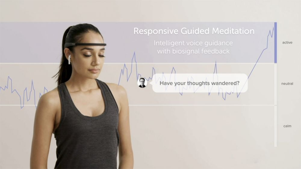 A smart headband to help you meditate.