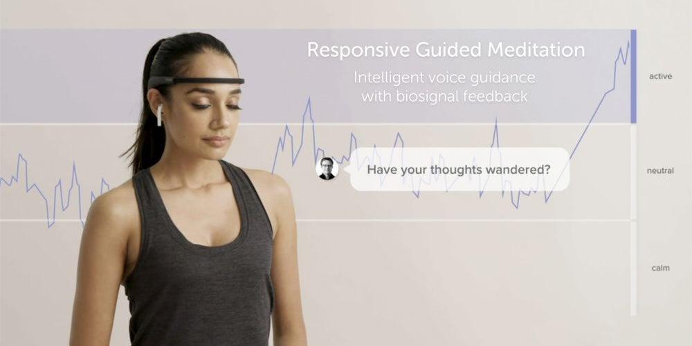 A smart headband to help you meditate.