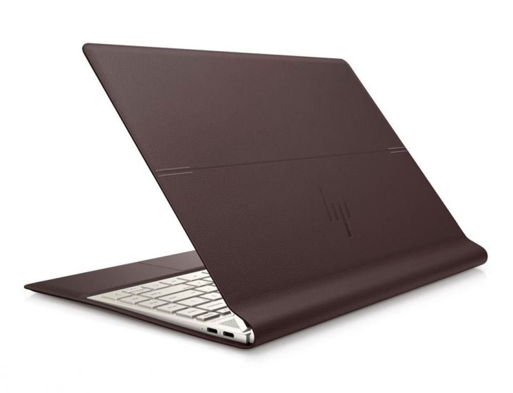 A leather convertible laptop.