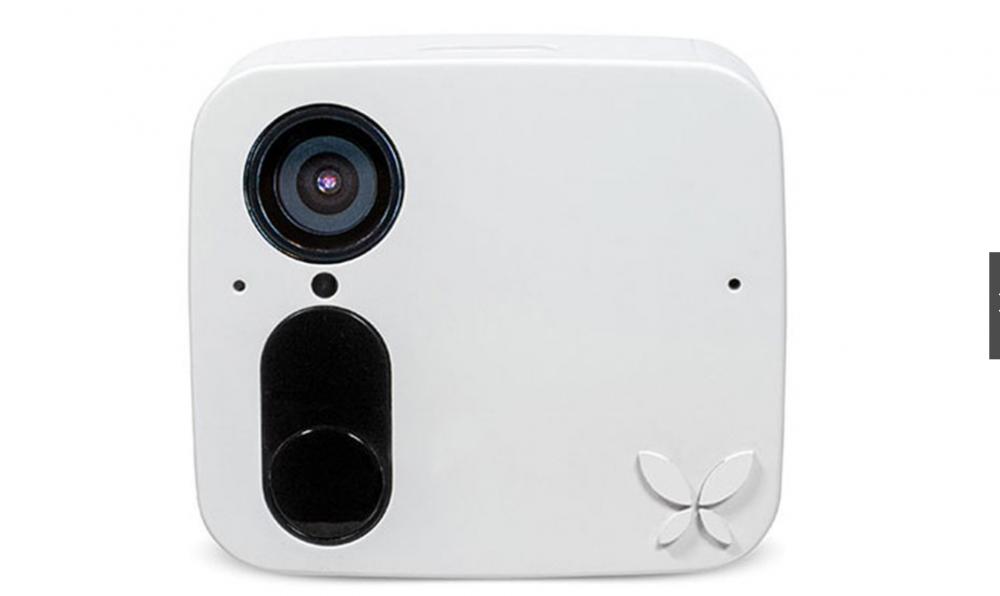 """5. La primera cámara de seguridad inteligente que le permite """"guardar"""" caras conocidas"""