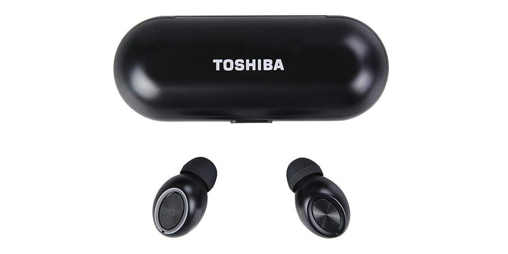 Wireless earphones that can charge your smartphone.