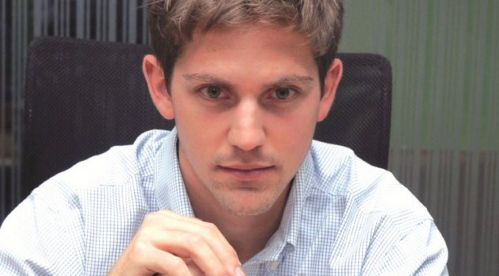 Greg Moran, 31, CEO And Co- Founder, Zoomcar