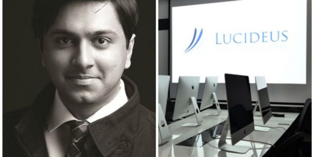 Saket Modi, 26, Founder, Lucideus Tech