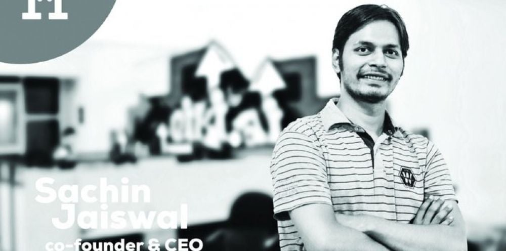 Sachin Jaiswal, 28, Founder, NIKI.AI