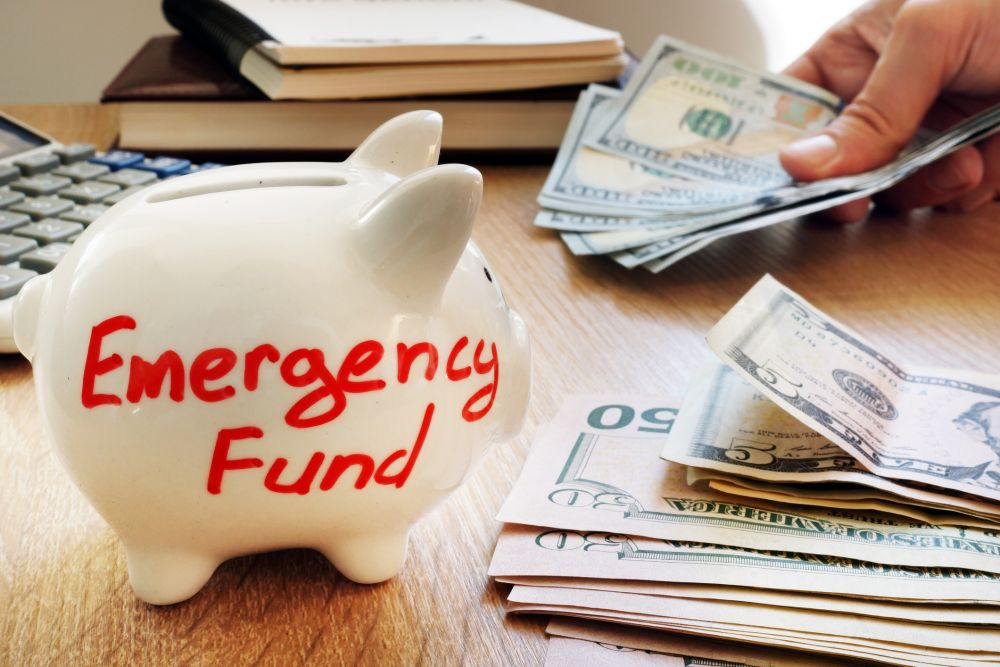 9. Create an emergency fund.