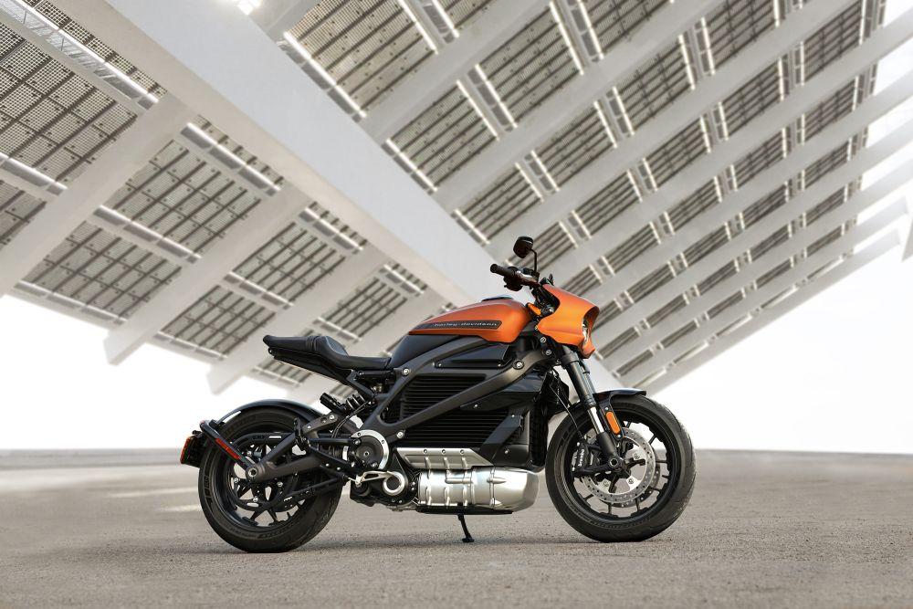 Revolutionary motorcycle