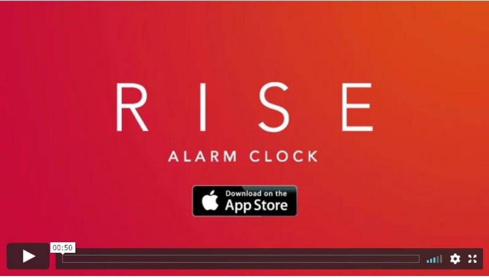 Rise Alarm Clock ($1.99, iOS)