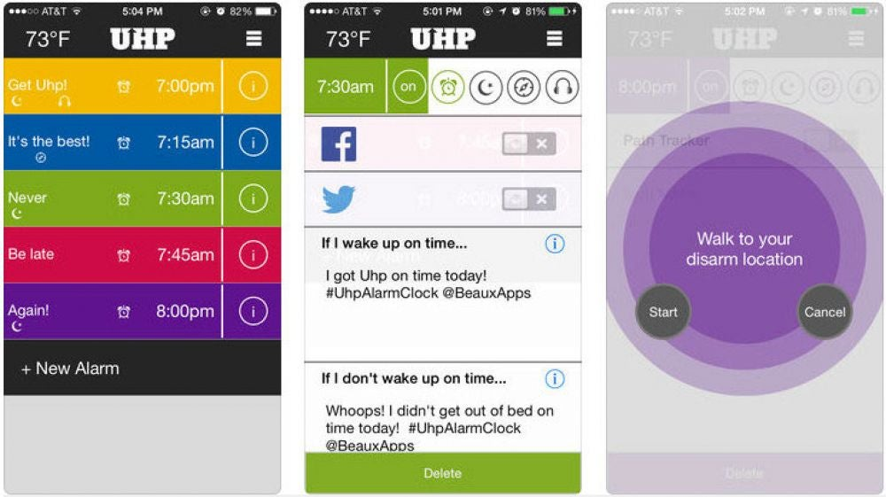 Uhp Alarm Clock Pro ($1.99, Android)
