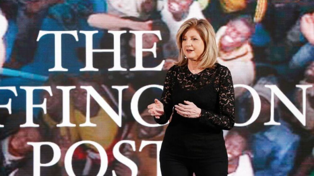 Arianna Huffington: Weekend time to decompress