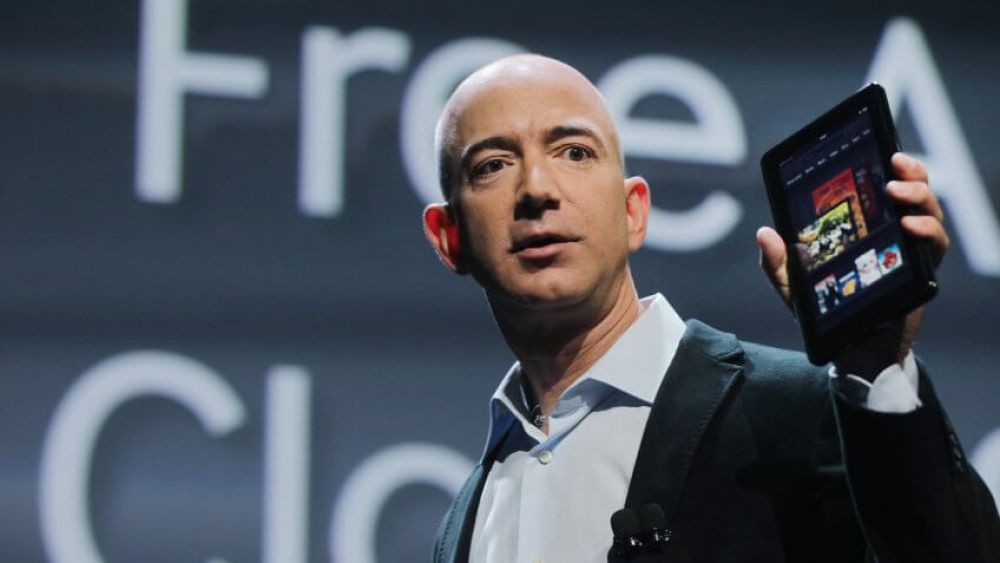 Jeff Bezos: Eight hours of sleep