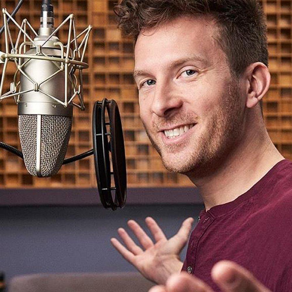 Jonathan Coleman, voiceover artist