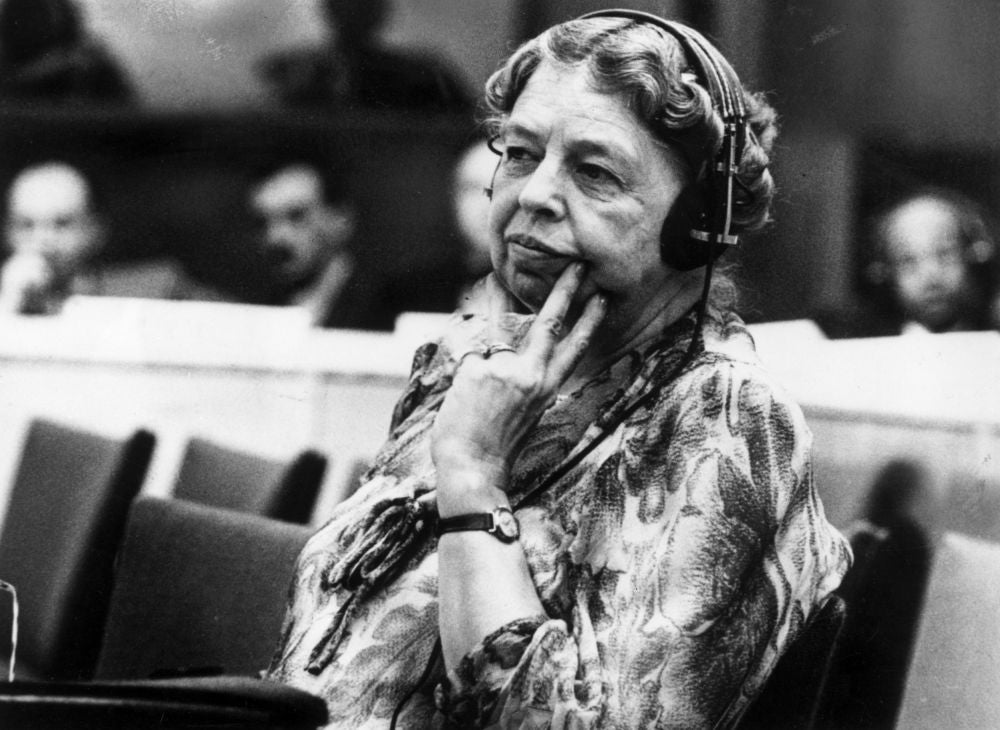 """One's philosophy is not best expressed in words; it is expressed in the choices one makes…and the choices we make are ultimately our responsibility."" -- Eleanor Roosevelt"