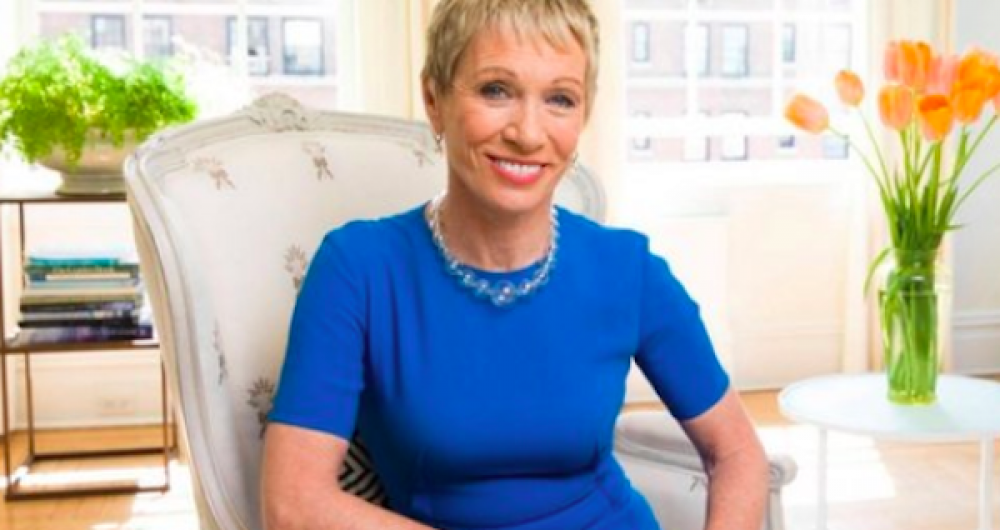 """My best successes came on the heels of failures."" -- Barbara Corcoran"