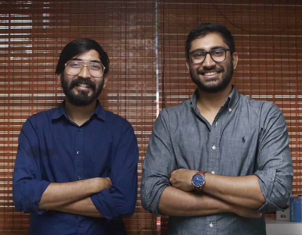The Ingenious Inkers – Kaushik Mudda, 26 and Navin Jain, 27