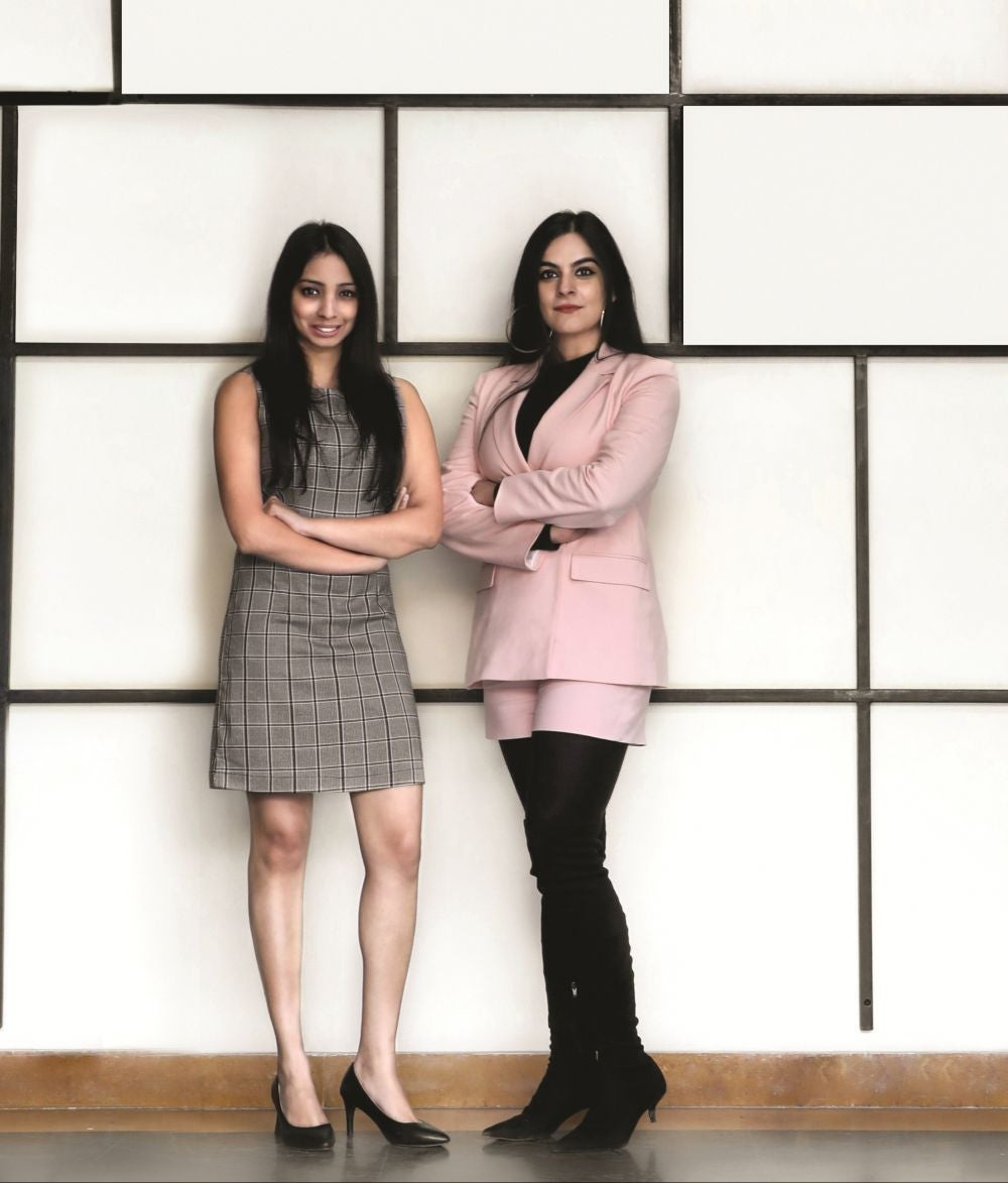 The Bohemian Duo – Tanvi Malik, 32 and Shivani Poddar, 33