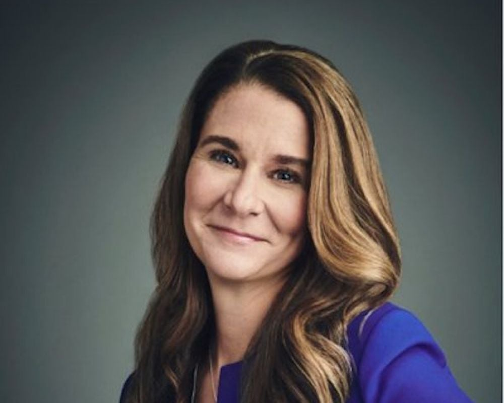 """The more you can be authentic, the happier you're going to be, and life will work itself around that."" -- Melinda Gates"