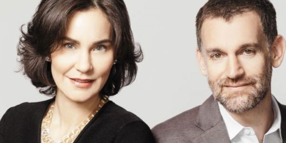 8. John and Laura Arnold