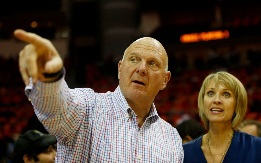 5. Steve and Connie Ballmer