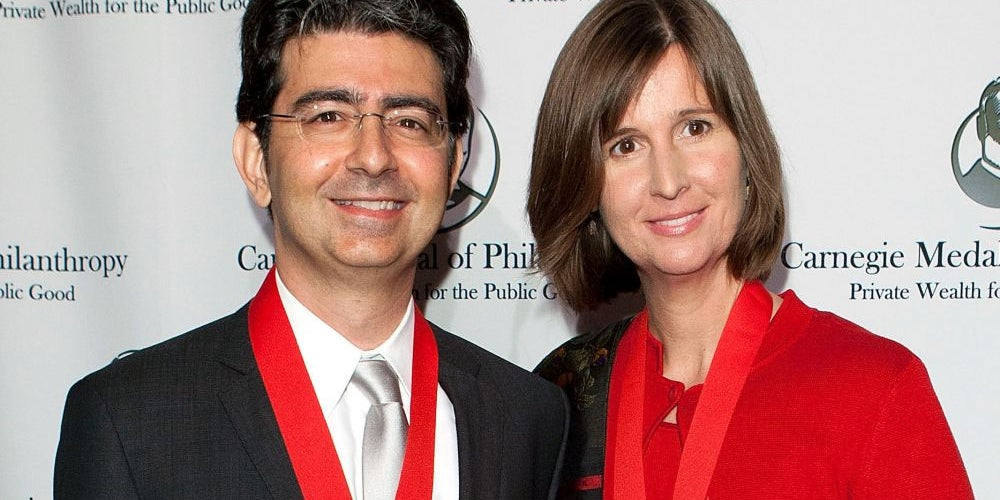 3. Pierre and Pam Omidyar
