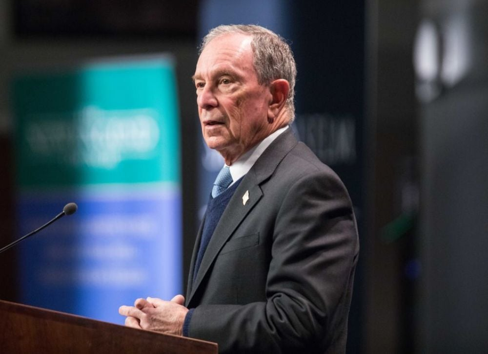 2. Michael Bloomberg