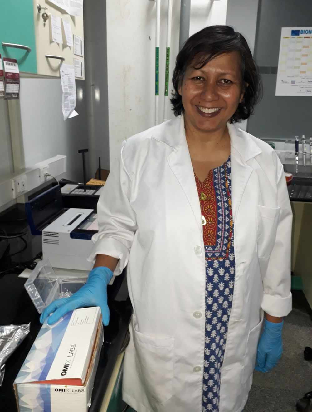 Sudeshna Adak- CEO and Director of OmiX Research and Diagnostics Laboratories Pvt. Ltd.