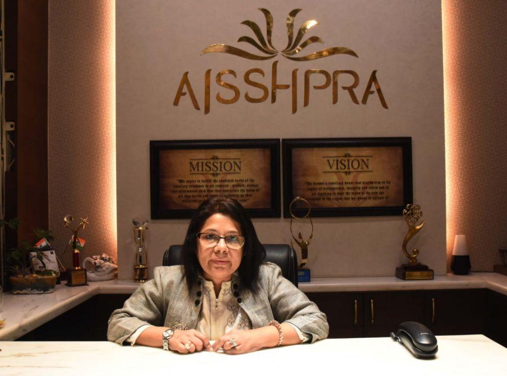 Vandana Saraf, Director of Aisshpra Gems and Jewels