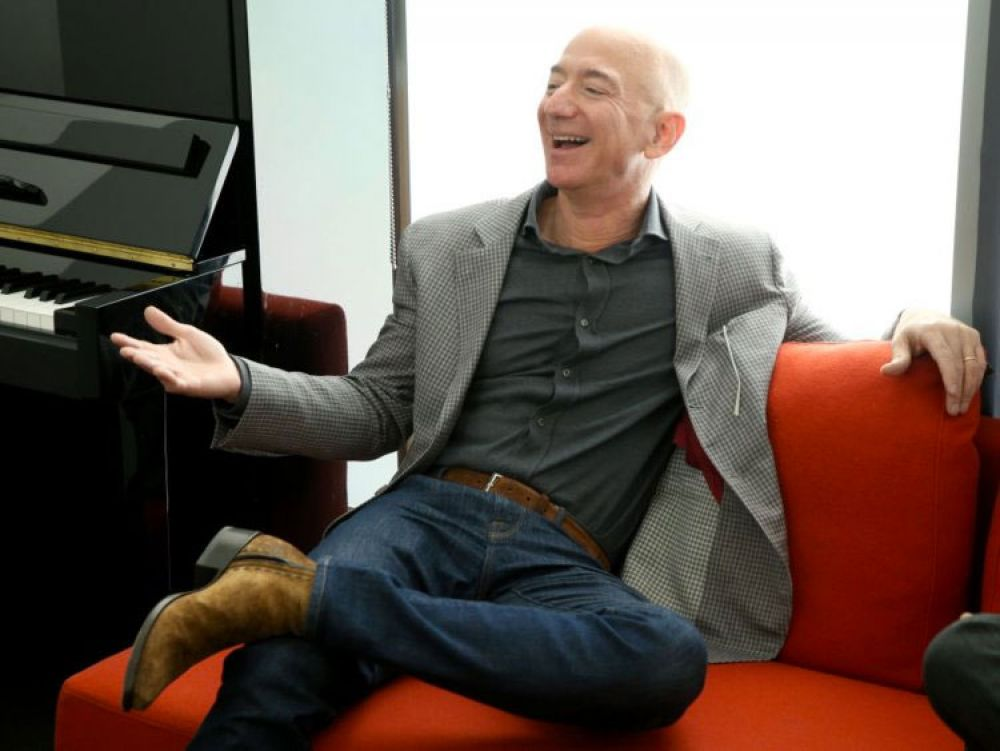 1. Bezos is worth $121 billion despite being paid an annual salary of just $81,840, less than what most U.S. representatives take home.