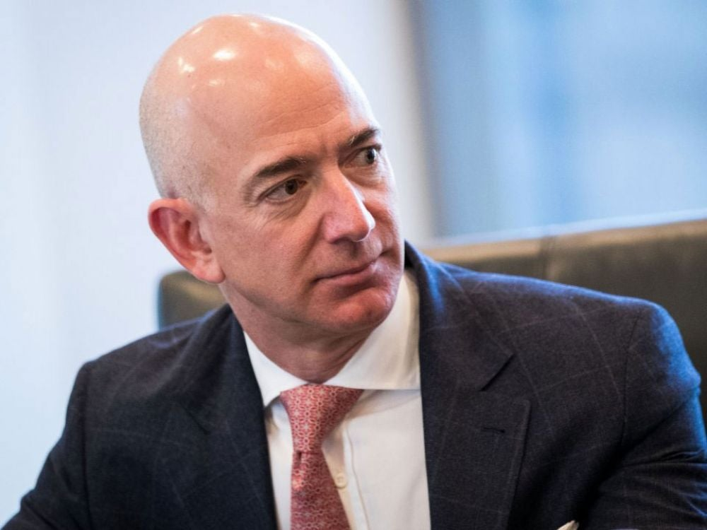 2. Bezos makes $2,489 per second -- more than twice what the median U.S. worker makes in one week.