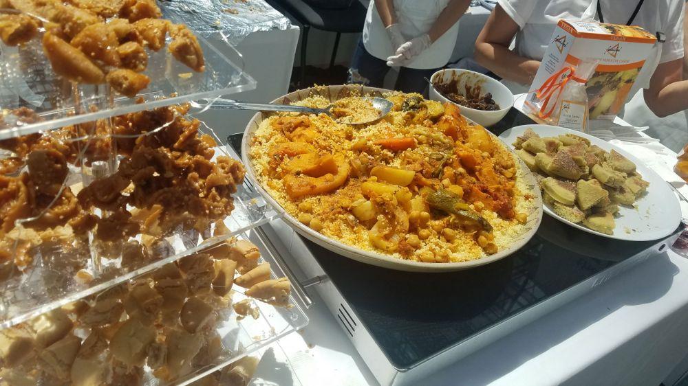 Frozen Moroccan food