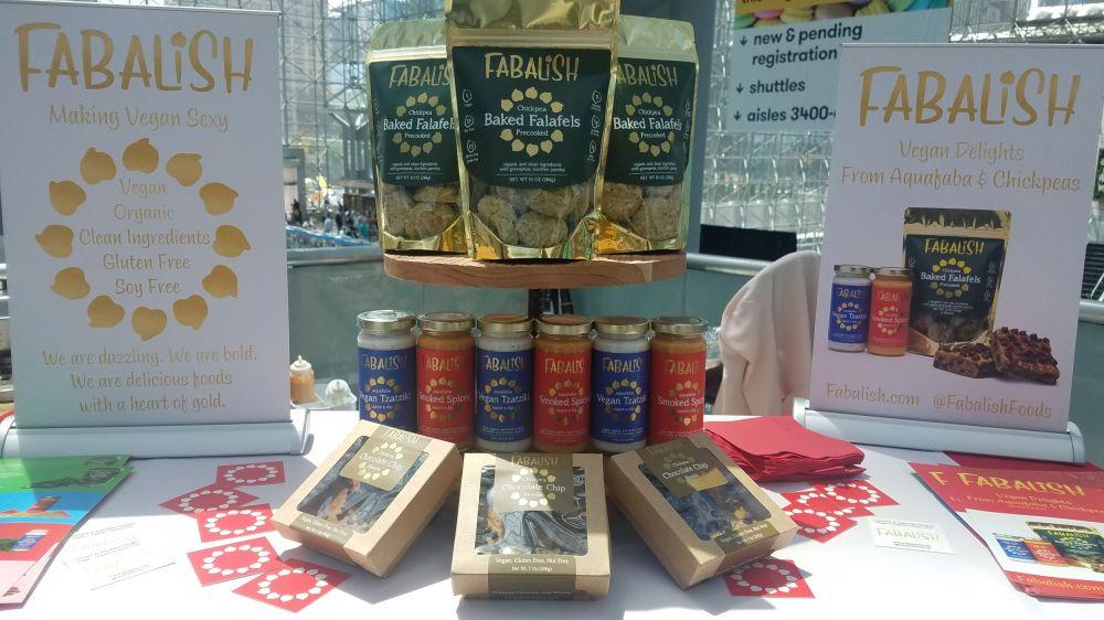 Falafel and plant-based tzatziki