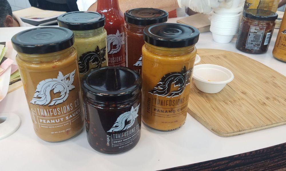 Thai sauces at home