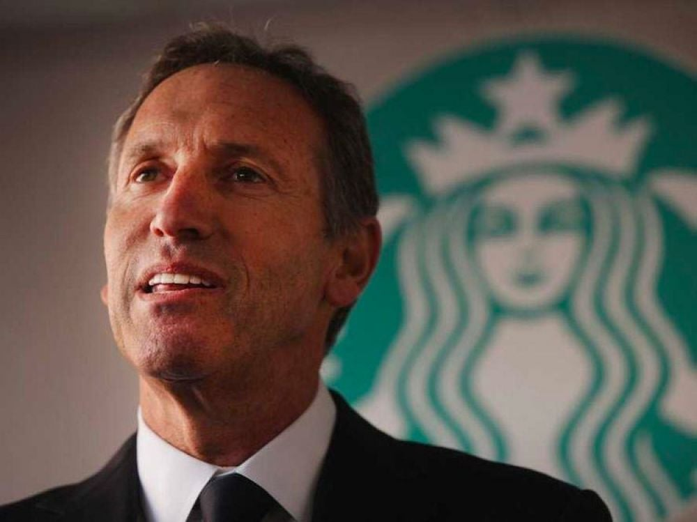 Howard Schultz has kept his morning-reading routine intact for 25 years.