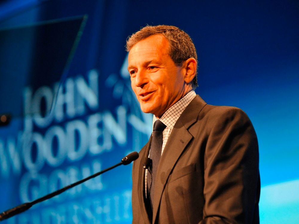 Disney CEO Bob Iger wakes up super early to read.