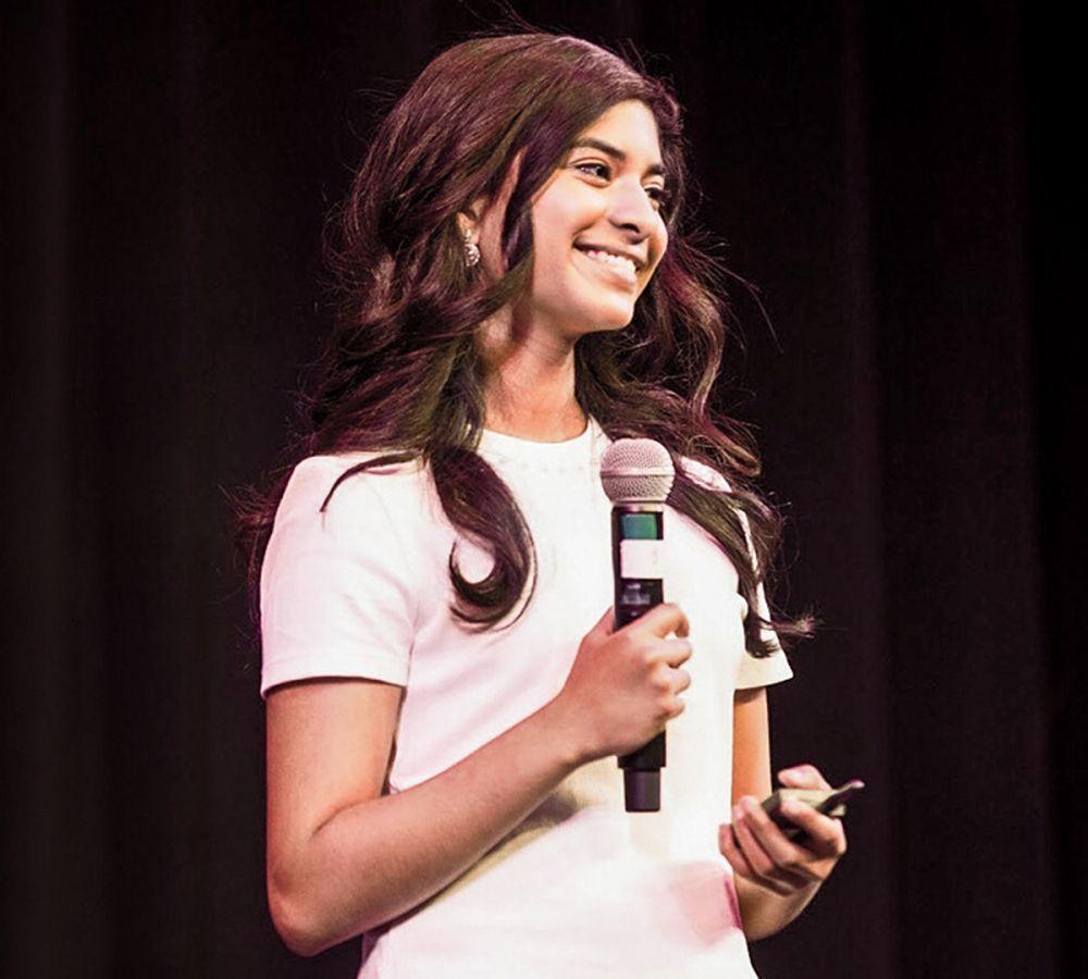 Riya Karumanchi, 16