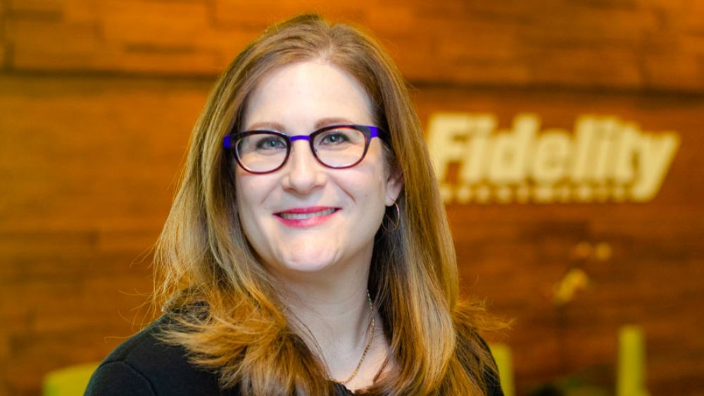Rachel Book (Fidelity Investments Director of Diversity Recruiting Strategies)