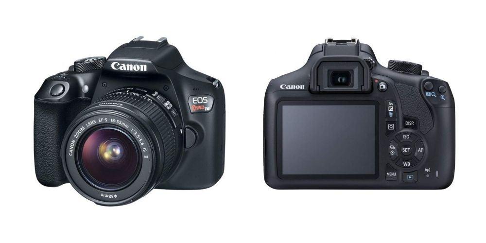 Canon EOS Rebel T6 Digital SLR Camera - $459.95