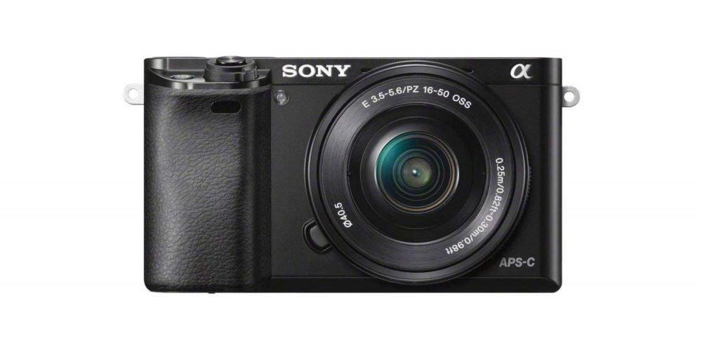 Sony Alpha a6000 Mirrorless Digital Camera - $548