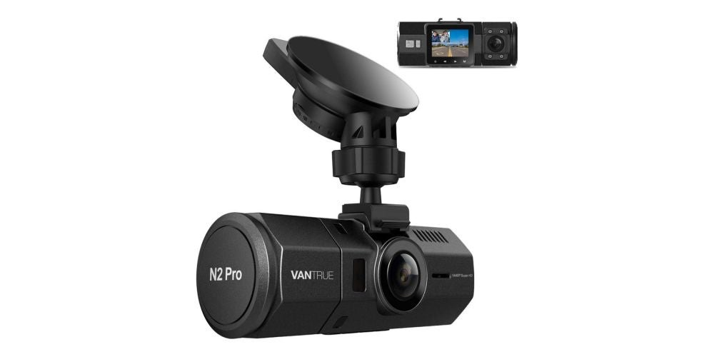 Vantrue N2 Pro Uber Dual Dash Cam - $199.99