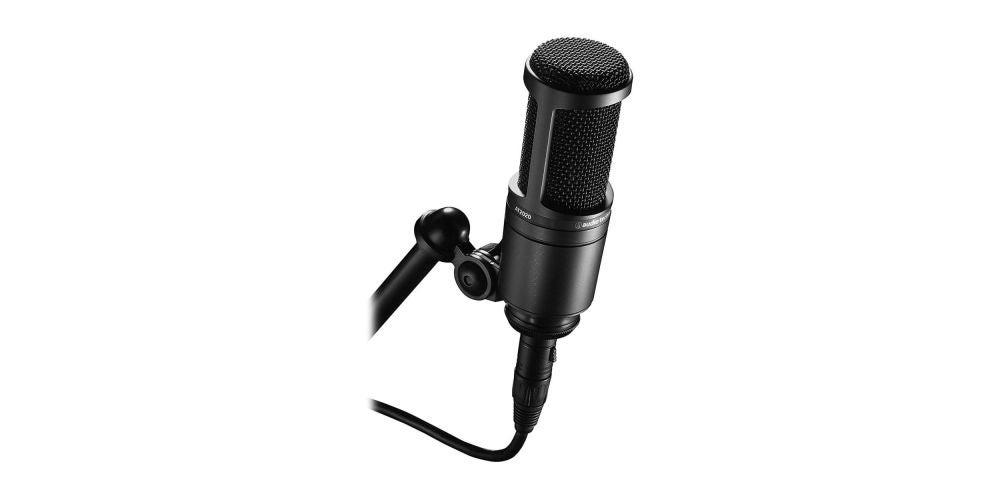 Audio-Technica AT2020 Cardioid Condenser Studio XLR Microphone - $119