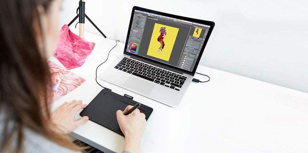 Wacom Intuos Graphics Drawing Tablet - $79