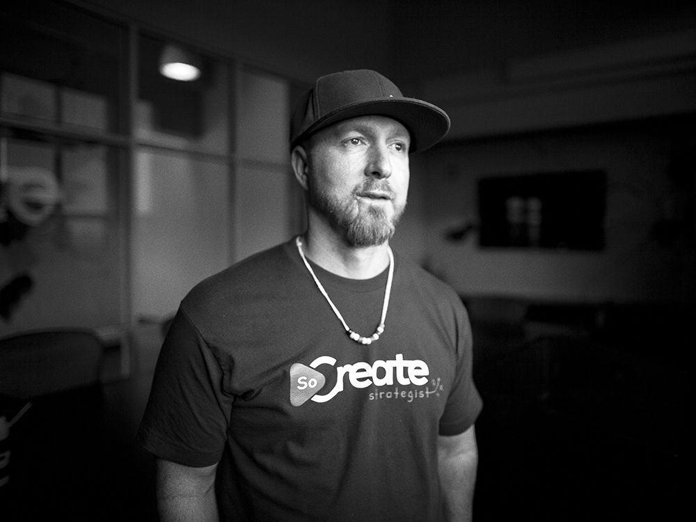 Justin Couto(SoCreate的创始人兼首席执行官)