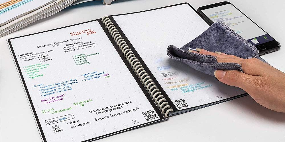 Rocketbook Wave Smart Notebook - $21.06