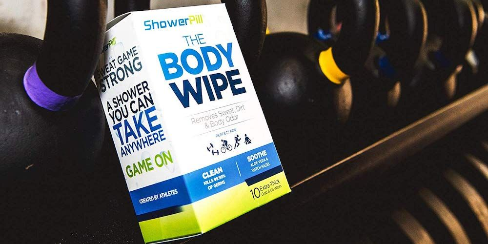 Shower Pill Body Cleansing Wipes - $9.99