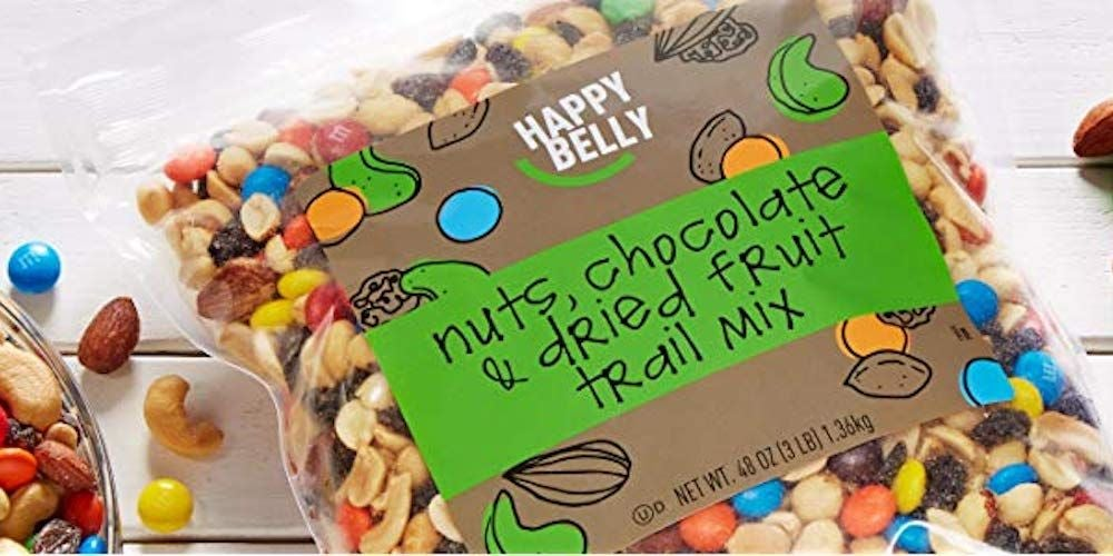 Happy Belly Nuts, Chocolate & Dried Fruit Trail Mix - $19.99